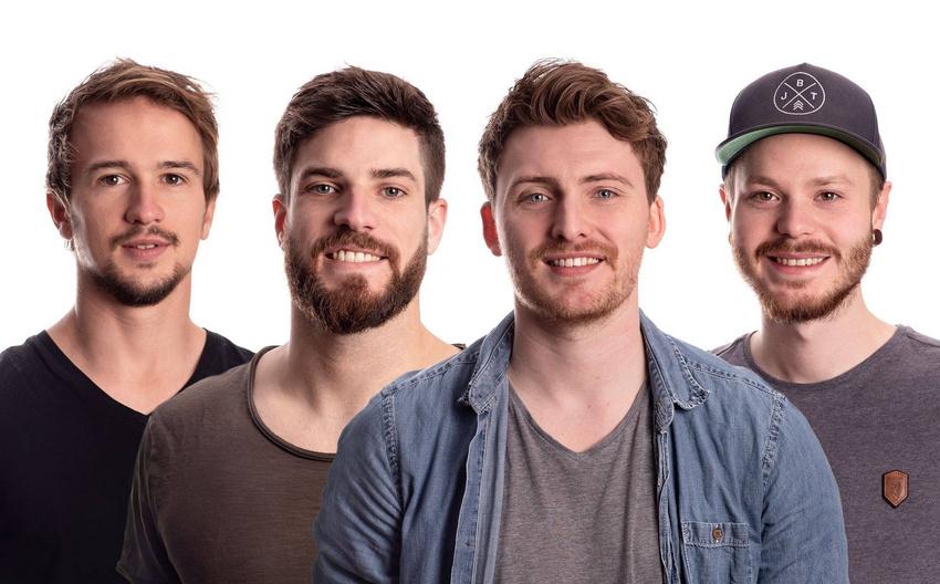 """Fin Dawson sind die neuen """"Frischlinge"""" bei RADIO BOB!"""