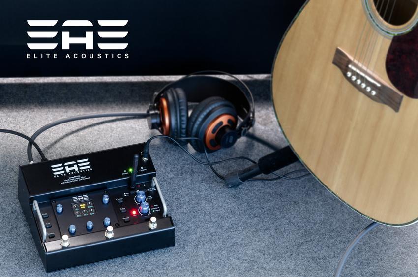 Stompmix X6: Elite Acoustics präsentiert akkubetriebenen Digitalmixer