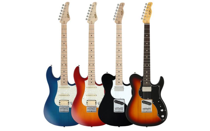 """""""Boundary""""-Serie: FGN Guitars bringt neue E-Gitarren und -Bässe auf den Markt"""