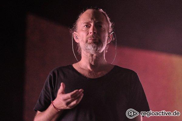 Auf Solopfaden - Thom Yorke: Fotos des Radiohead-Sängers live in Frankfurt