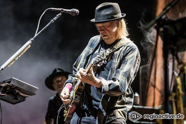 Legends never sleep - Neil Young & Crazy Horse kündigen neues Album 'Colorado' an