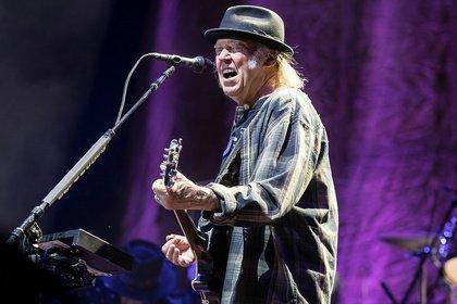 Zwei Legenden vereint - Bob Dylan und Neil Young stehen in Irland gemeinsam auf der Bühne