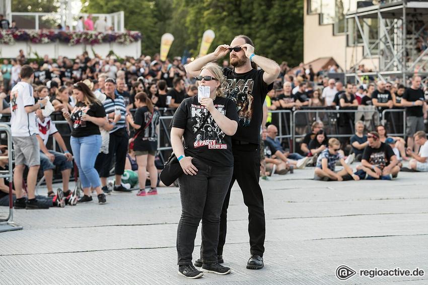 Impressionen von KISS in Iffezheim 2019