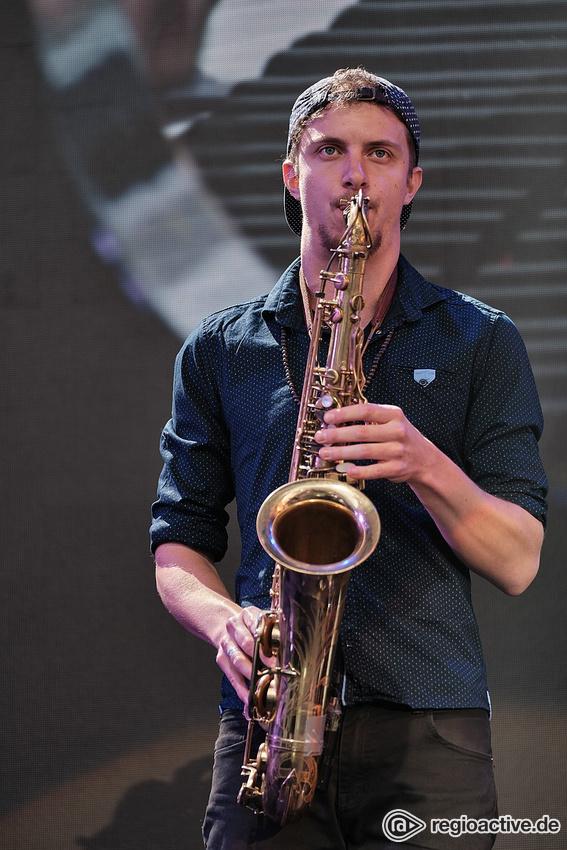 Étienne Mbappé & The Prophets (live beim Leopolis Jazz Fest 2019)