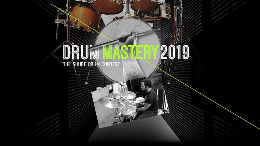 """Der Gewinner des Shure """"Drum Mastery 2019"""" Contests steht fest!"""