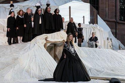"""Umgedreht - Nibelungen-Festspiele Worms 2019: Exklusive Bilder von """"Überwältigung"""""""
