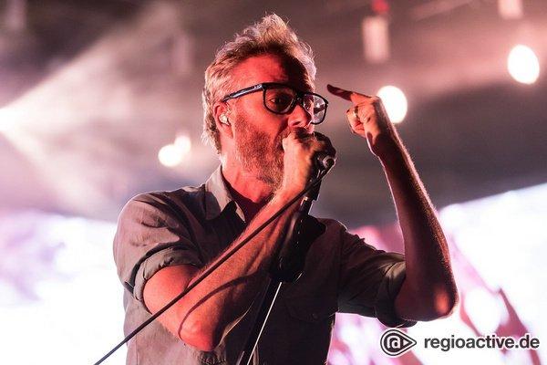 Neue Facetten - The National lassen ihre Fans in Frankfurt von Indie-Rock träumen