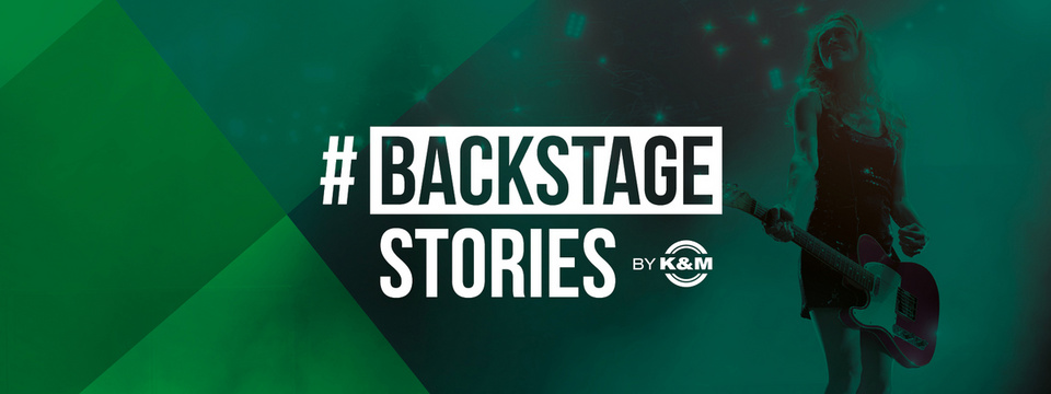 Wir besuchen euch Backstage und featuren eure Band: Ladet uns zu euren Gigs ein!