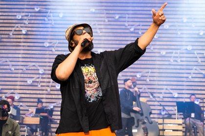 Nicht nur leise Töne - Samy Deluxe: Bilder der Unplugged-Show auf dem Deichbrand Festival 2019