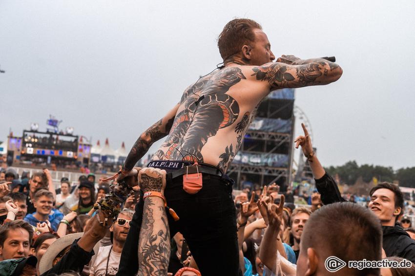 Frank Carter & the Rattlesnakes (live beim Deichbrand Festival 2019)