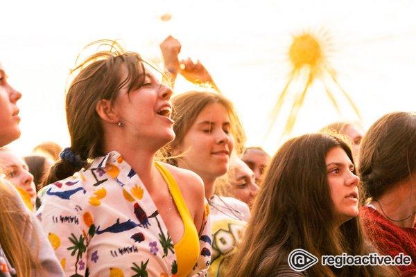 Unbeschwerte Stimmung - Lust zum Feiern: Impressionen vom Samstag beim Deichbrand Festival 2019