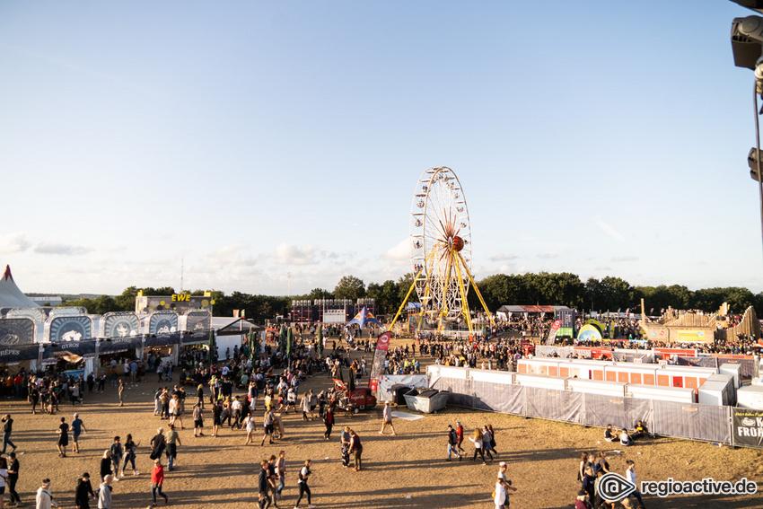 Impressionen vom Sonntag beim Deichbrand Festival 2019