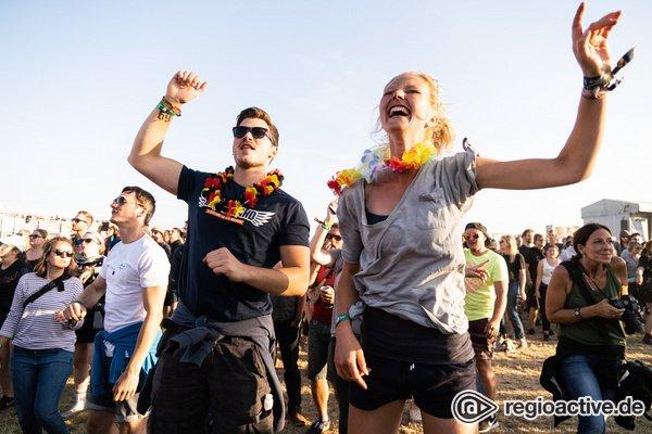 Sonniger Abschluss - Sommerfeeling: Impressionen vom Sonntag beim Deichbrand Festival 2019