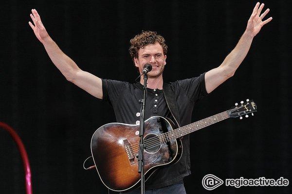 Australischer Folk - Vance Joy: Live-Bilder des Openers von P!NK in Frankfurt