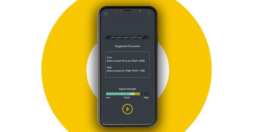 KRK Audio Tools: Kostenlose App zum Einrichten von KRK Studiomonitoren