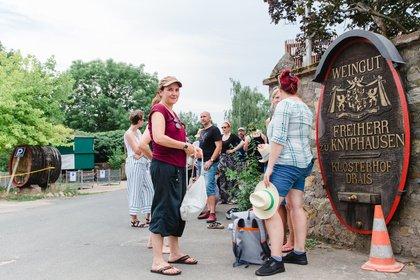 Wein schmeckt bei jedem Wetter - Heiß! Impressionen vom Freitag beim Heimspiel Knyphausen 2019