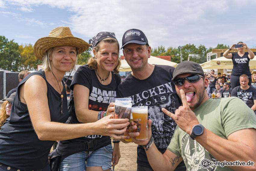 Impressionen vom Mittwoch beim Wacken Open Air 2019