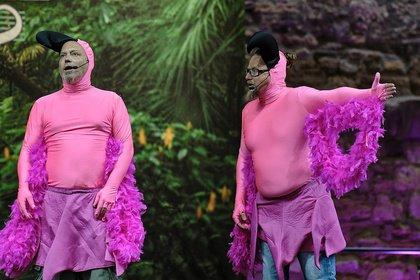 Flamongos im Schlosshof - Mundstuhl: Bilder des Komiker-Duos live beim Da Capo Festival in Alzey