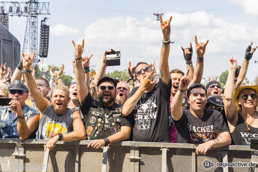 Skyline live beim Wacken Open Air 2019