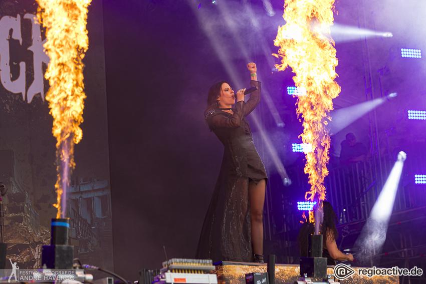 Beyond the Black Live beim Wacken Open AIr 2019