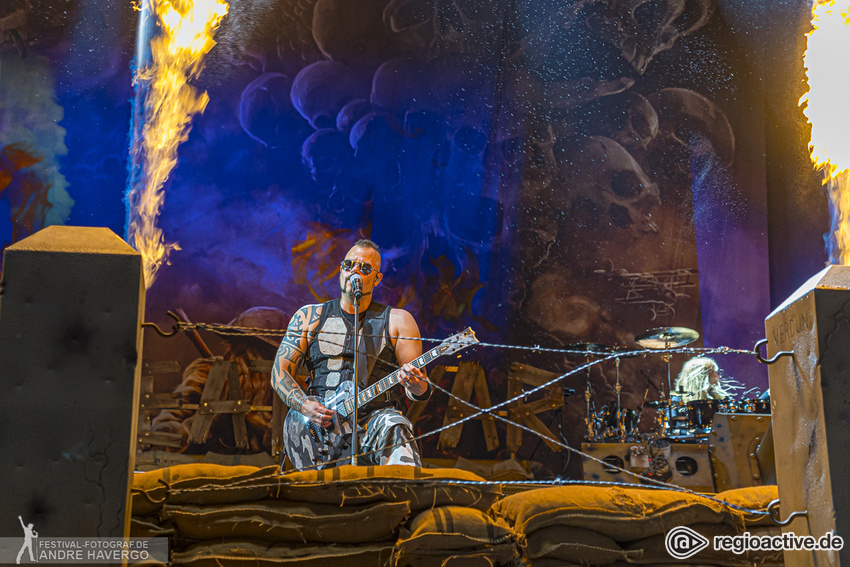 Sabaton Live beim Wacken Open Air 2019
