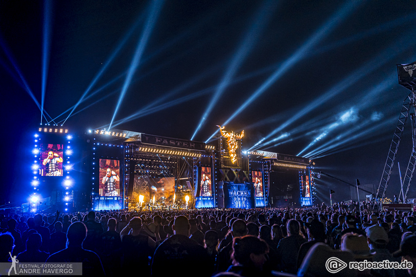 Nacken-Knacken in Wacken - Headbanger-Vollversammlung: Alle Bilder vom Wacken Open Air 2019