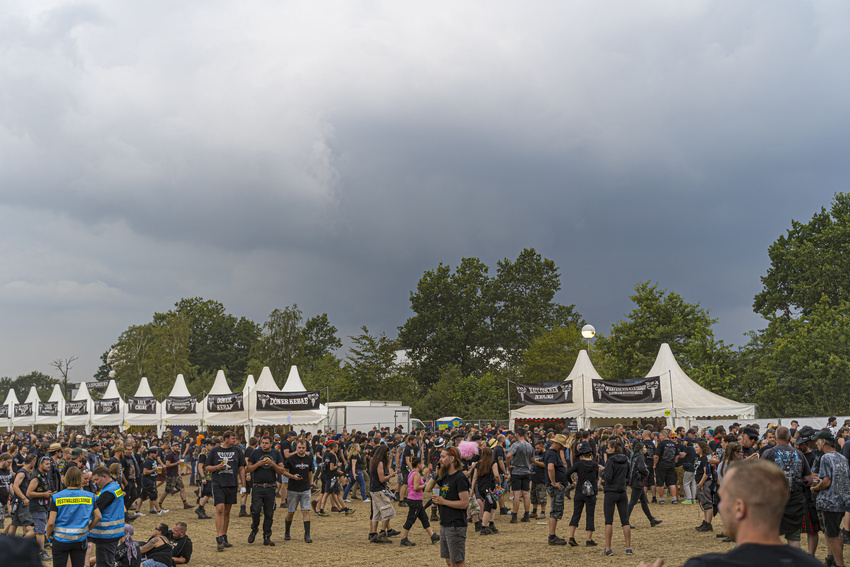 Unwetter beim Wacken Open Air 2019