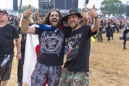 Verregnetes Festivalerlebnis - Unerschrockene Metalheads: Impressionen vom Freitag beim Wacken Open Air 2019