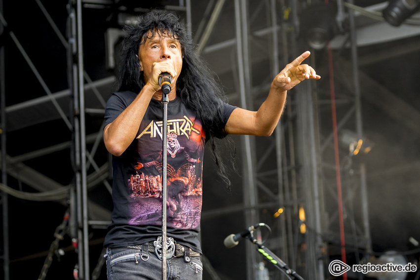 Anthrax beim Wacken Open Air