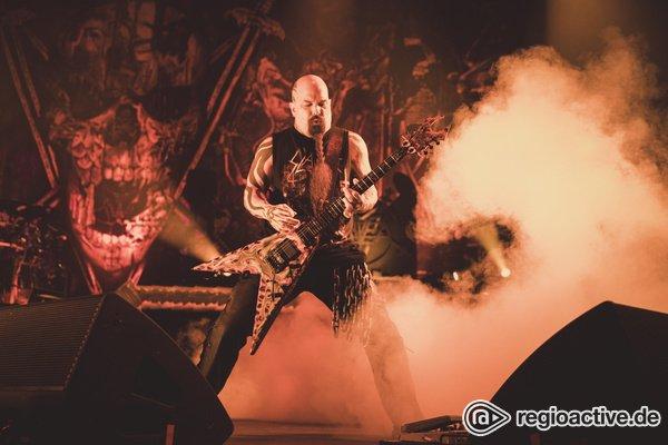 The End of a Reign in Blood - Slayer nehmen in Stuttgart gebührend Abschied von ihren deutschen Fans