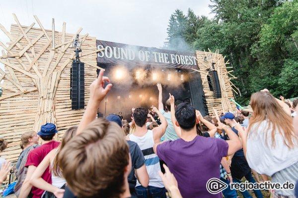 Wilde Feier im Wald - 10 Jahre Sound of the Forest: So schön war das verspätete Jubiläum
