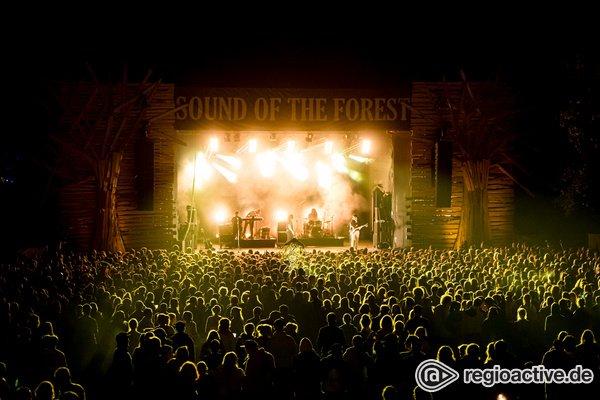Naturerlebnis - Herrlich: Impressionen von Samstag beim Sound of the Forest Festival 2019