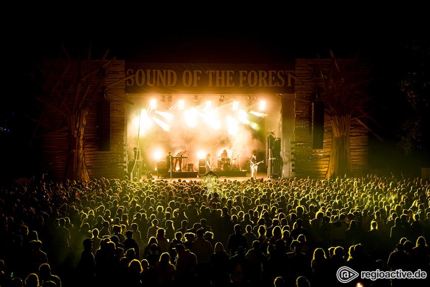 Impressionen von Samstag (bei Sound of the Forest, 2019)