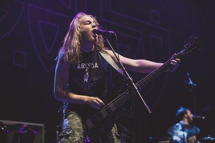 Thrash-Metal auf Māori - Live-Bilder von Alien Weaponry als Support von Slayer in Stuttgart