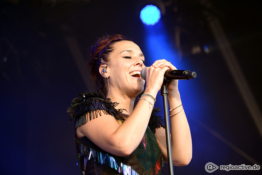 Zaz (live in Schwetzingen, 2019)