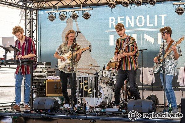 Indie aus Mainz - The Cash Crops: Fotos der Voting-Sieger live beim Jazz & Joy 2019 in Worms