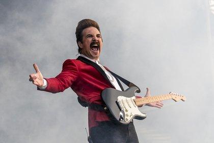 Lässig - Royal Republic: Fotos der Schweden live beim Highfield Festival 2019