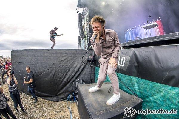 Trancecore - Energiegeladene Bilder von Enter Shikari live beim Highfield Festival 2019