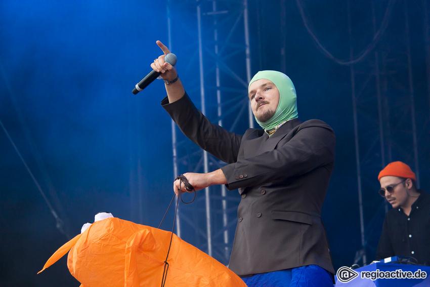 Die Orsons (live auf dem Highfield Festival, 2019)
