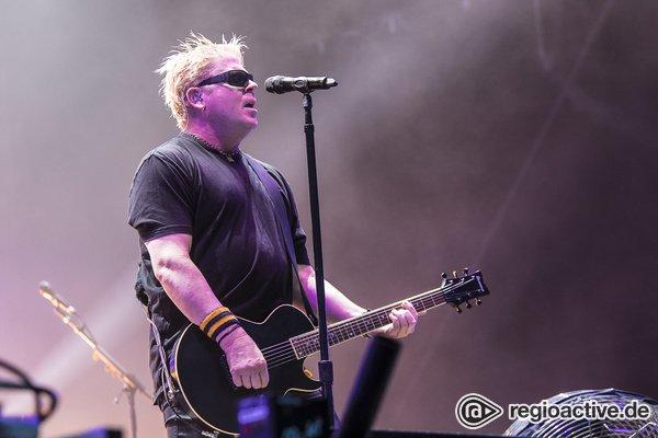 Seit 35 Jahren aktiv - Kraftvoll: Fotos von The Offspring live beim Highfield Festival 2019