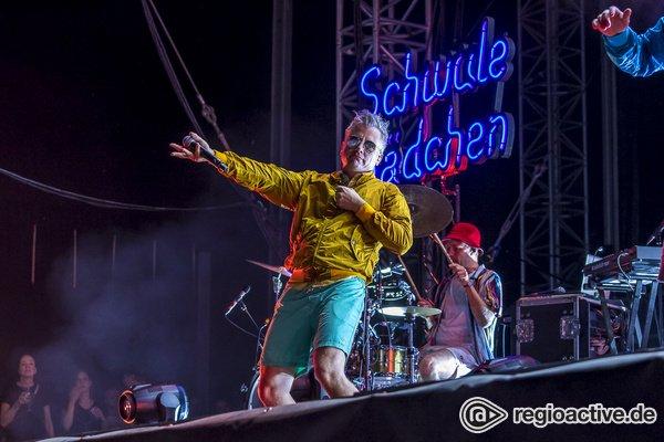 Hip-Hop hoch drei - Fettes Brot: Fotos des Hamburger Trios live beim Highfield Festival 2019