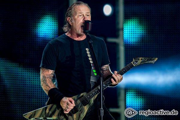 Rückfall nach langer Zeit - James Hetfield auf Entzug: Metallica sagen Tour in Australien und Neuseeland ab