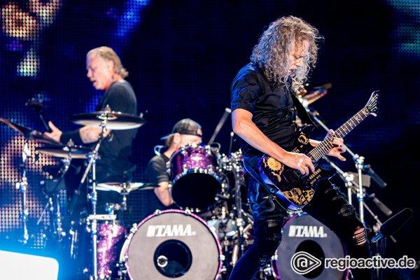 Amtlich abgeliefert - Metallica bereiten ihren Fans in Mannheim ein Metal-Fest