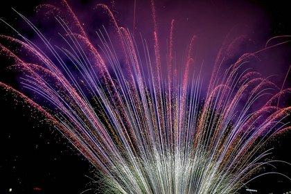 Der absolute Knaller - Fotos vom großen Musikfeuerwerk beim Museumsuferfest Frankfurt 2019