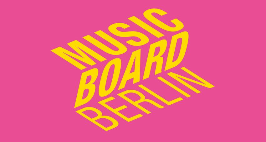 Das Musicboard Berlin unterstützt 47 Projekte mit 600.000 Euro in der 1. Förderrunde 2020