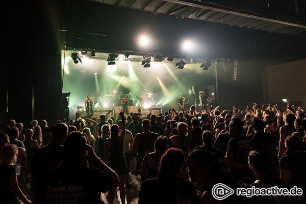 Treffpunkt der schwarzen Szene - Black Castle Festival 2019 in Mannheim: Tolle Bands, ausbaufähiges Ambiente