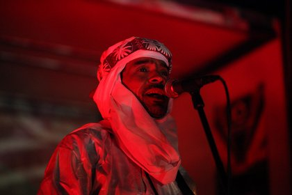 Wüstenstaub - Fotos: Bibi Ahmed & Group Inerane live beim 10. Mannheimer Brückenaward
