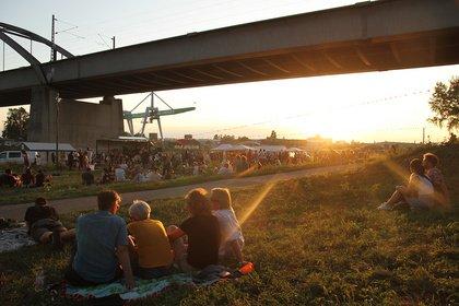 Abschied vom Sommer - Sonnig: Impressionen vom Samstag beim Mannheimer Brückenaward 2019