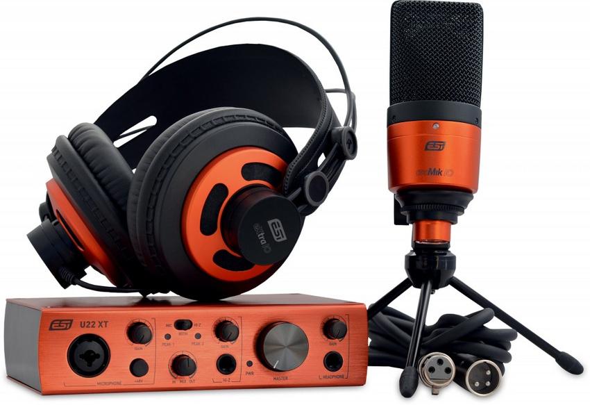 ESI veröffentlicht Komplett-Recording-Set