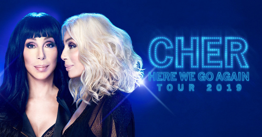 Cher (Tourplakat, 2019)